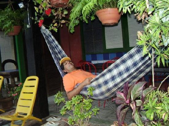 Hostel Villas Boas : el rico clima de relajo en el hostel
