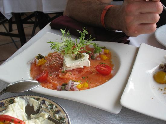 Barcelona Tapas: smoked salmon