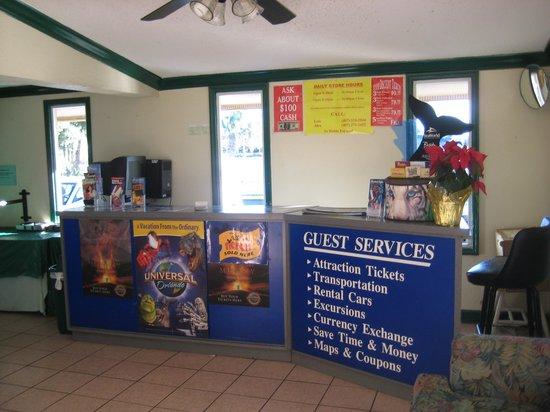Knights Inn Maingate Kissimmee/Orlando: Guest Services