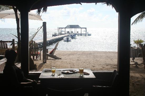 Matachica Resort & Spa: Our breakfast spot every morning