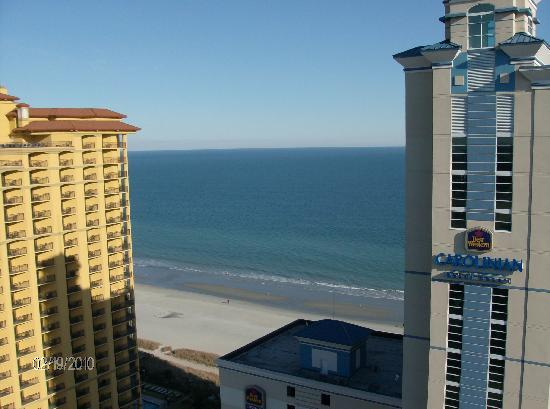 Carolina Grande Ocean View From The Balcony Just A General Myrtle Beach