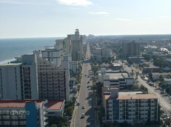 Carolina Grande: Southern view of Ocean Blvd.