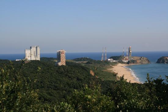 Tanegashima Space Center: 発射台一望
