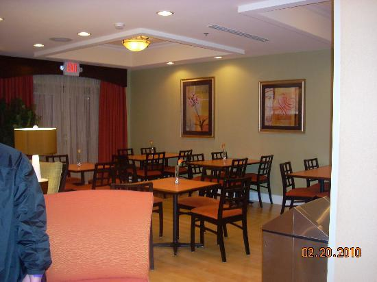 Holiday Inn Express & Suites Spartanburg North: Breakfast area