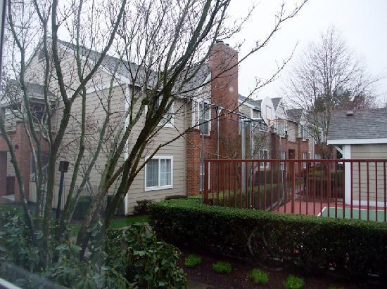 Residence Inn Portland Hillsboro : View from room