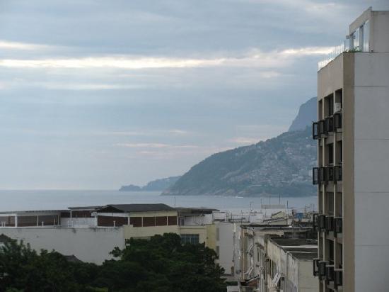 Atlantis Copacabana: view from ocean view room 9th floor