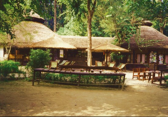 Chitwan Jungle Lodge: Main Quad of the Lodge