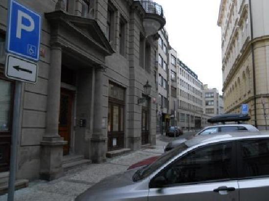 Residence Karolina - Prague City Apartments: Front Entrance