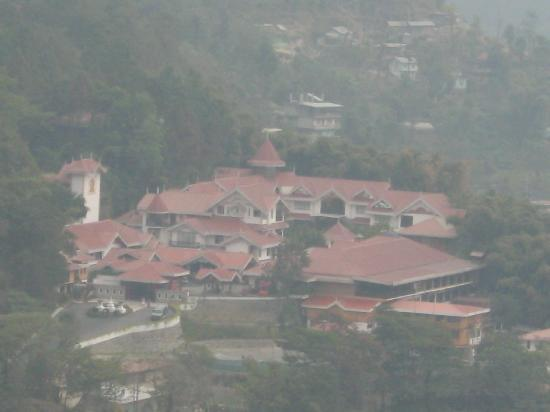 Mayfair Spa Resort & Casino: top view of the hotel on the way to tsomgo lake