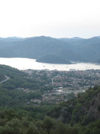 Göcek, Turkiet: gocek from the mountains!