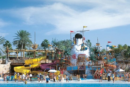 Wild Wadi Waterpark: Wild Wadi - Breaker's Bay and Juha's Dhow & Lagoon