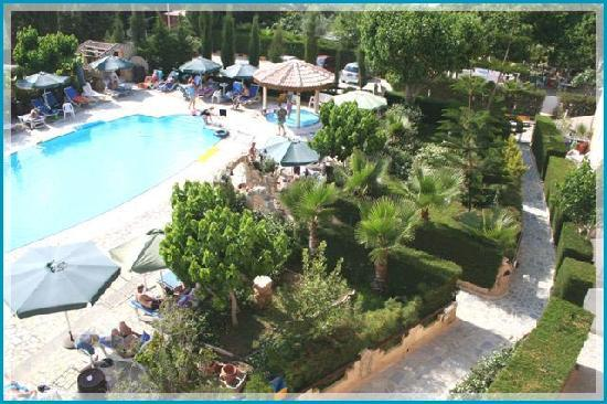 Apollonia Holiday Apartments: From above