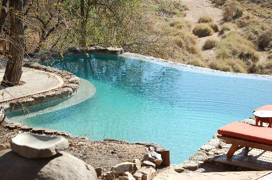 Makalali Private Game Reserve, South Africa: Great way to cool off.