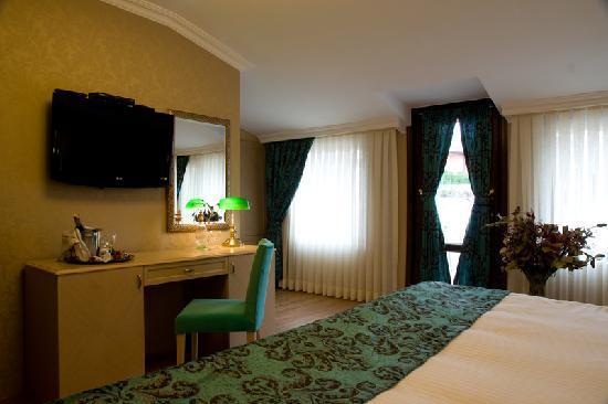 Hotel Seraglio: Unser elegantes, wunderschönes und für den Preis super Zimmer !!!