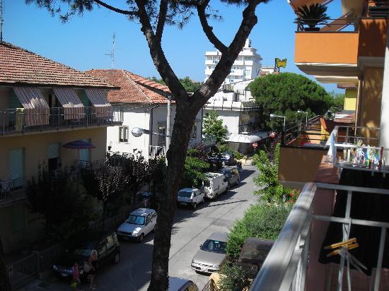 Hotel Aurelia: Vista dalla nostra stanza
