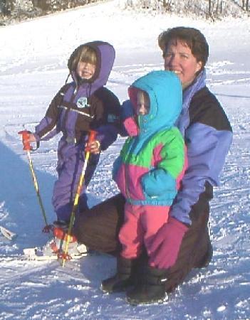 Hotel Alphof: My girls - back in 2002