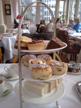 The Terrace: Afternoon tea