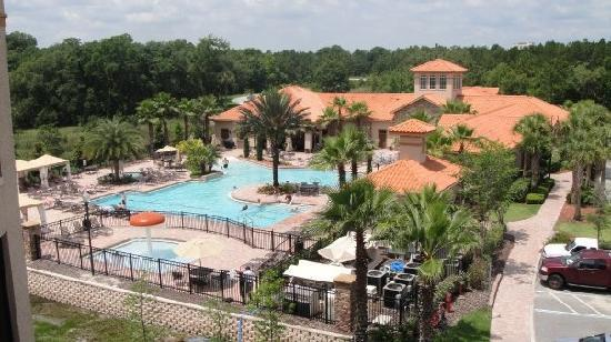 Four Corners, FL: Pool & Club House area