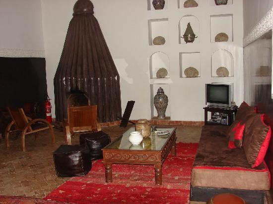 Riad Amin: le salon
