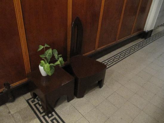 Pension Roma: Stühle