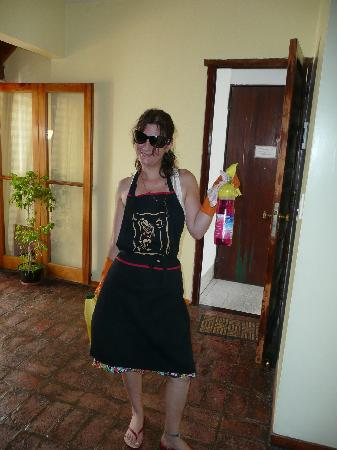Giorgio's House Buenos Aires: Ana, getting the place tidy!
