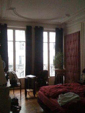 "Our room in ""A Room in Paris"""