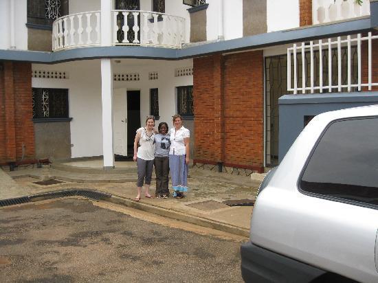 Outside the entrance to Adonai house 5