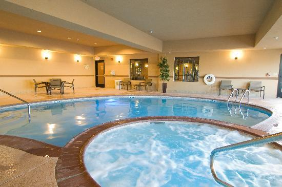 Comfort Suites Buda – Austin South Hotel: Indoor Heated Pool and Spa
