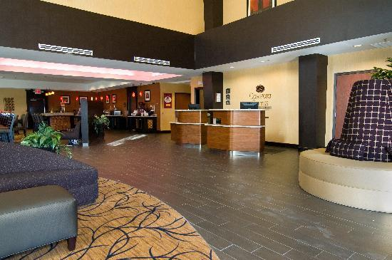 Comfort Suites Buda – Austin South Hotel: Entrance to Lobby