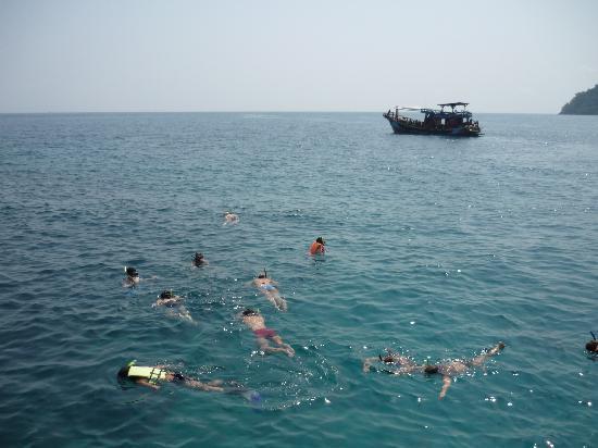 Chai Chet Resort: Pool Aussicht