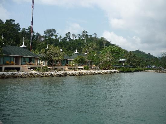 Chai Chet Resort: Meeransicht