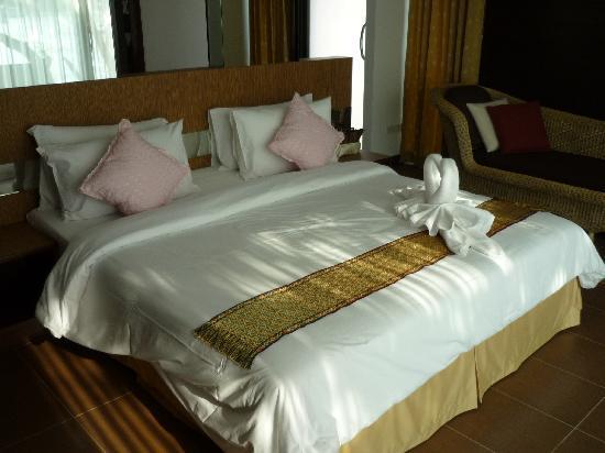 Chai Chet Resort: Schlafraum neuer Bungalow