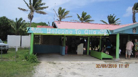 Atiu, جزر كوك: Atiu Airport