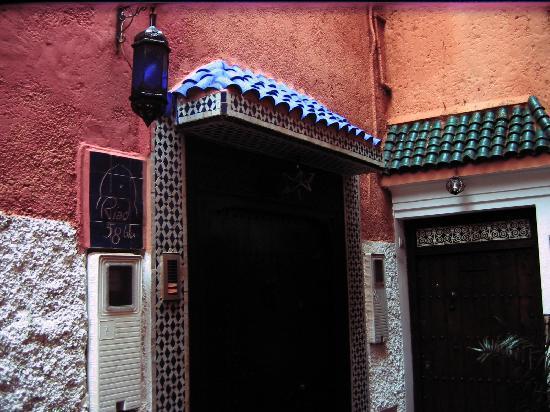 Riad 58 Blu: Hotel Entrance