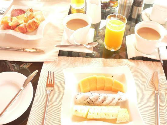 Baros Maldives: colazione