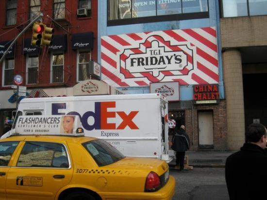 TGI Friday's : Usa.. uSa.. usA..