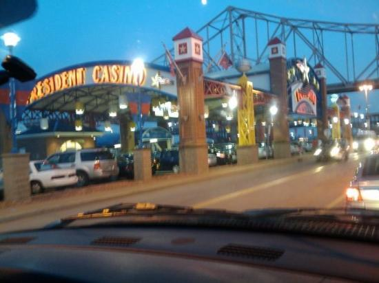 Casino louis president st boomtown casino mississipi
