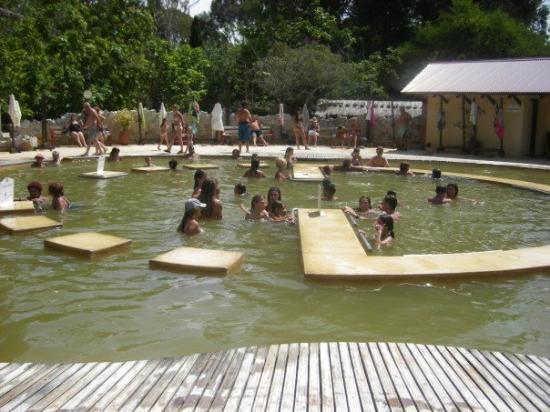 San Clemente del Tuyu, Αργεντινή: Aguas termales al descubierto