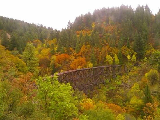 Cloudcroft, Nuevo Mexico: Mexican Canyon Trestle