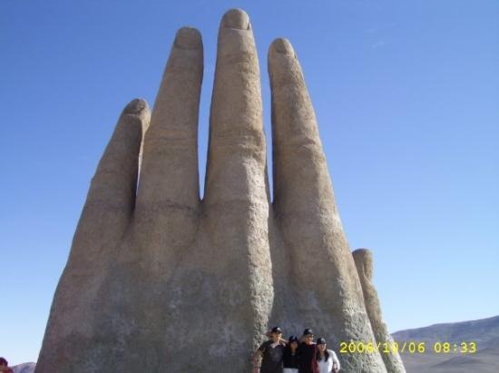 Antofagasta, Chile: La mano, II región 2006