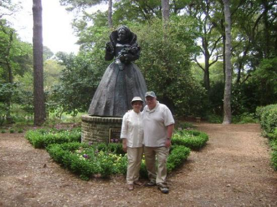 Roanoke Island, Carolina del Norte: Elizabethan Garden