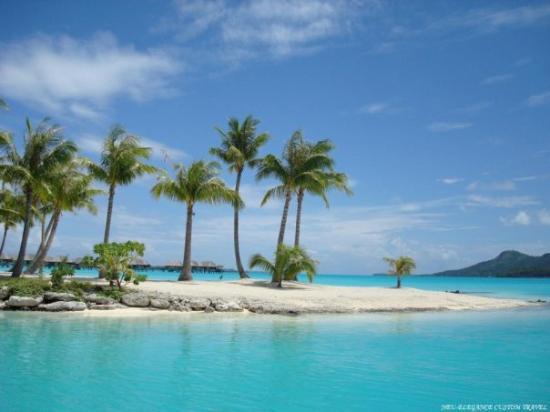 Bora Bora - the most beautiful island in the world. Quote by ...