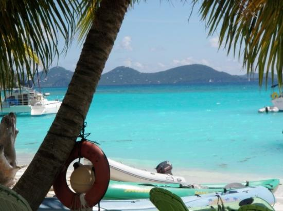 Another photo of the beautiful blue water at White Bay, Jost BVI