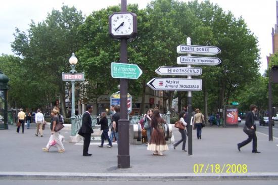 Paris Walks: A street in Paris, France