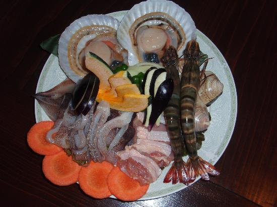Taiyonosato : 海の幸がたっぷり