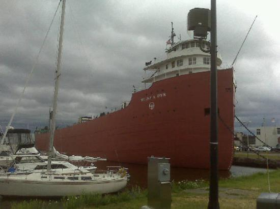 S.S. William A. Irvin Ore Boat Museum: The William Irvin in Duluth, Minnesota
