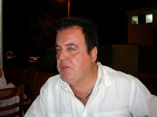 Glyfada, Greece, My husband Christo
