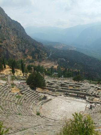 Delfiruinene: The Theatre at Delphi