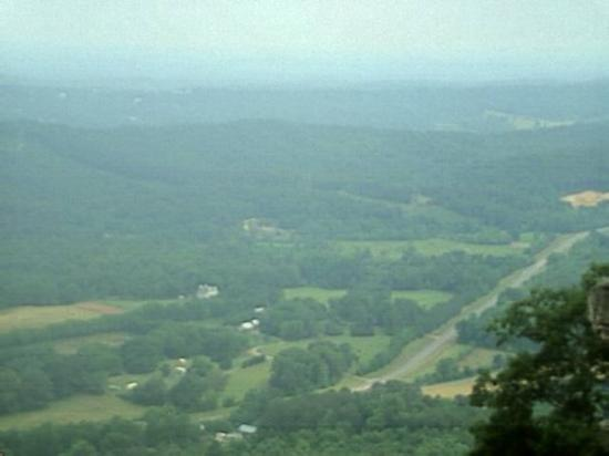 Rock City: can see 7 states