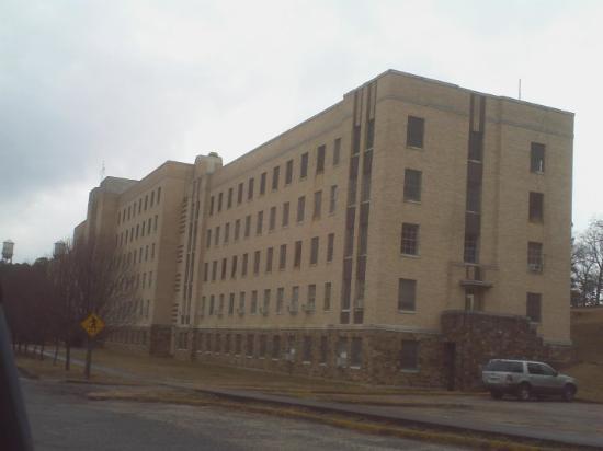 Booneville, AR: Arkansas old TB Sanatorium..